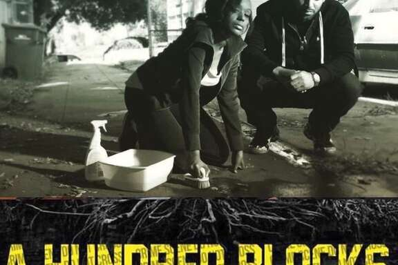 """A promotion handout from """"A Hundred Blocks,"""" the first feature-length film by Marshawn Lynch' Beast Mode Productions."""