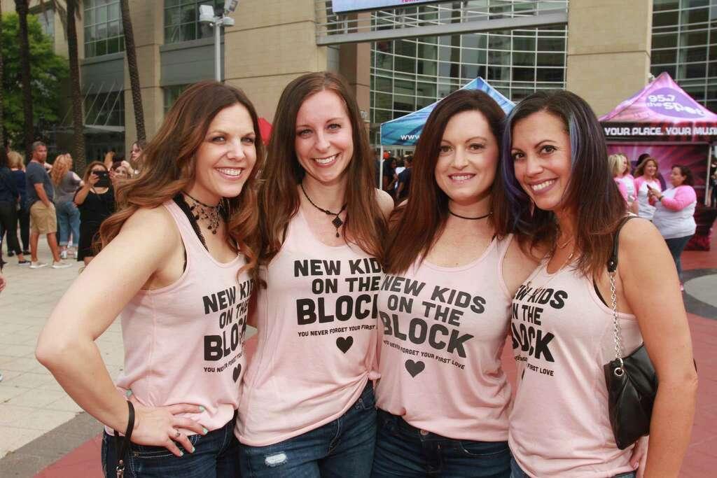 Fans attending the NKOTB, Boyz II Men, and Paula Abdul concerts at Toyota Center