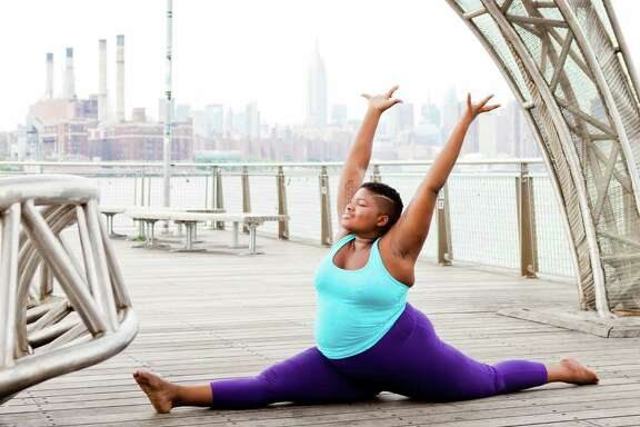 "Jessamyn Stanley, author of ""Every Yoga Body,"" became an Instagram star for her empowering yoga poses. She embraces her full figure and wants others to do the same."