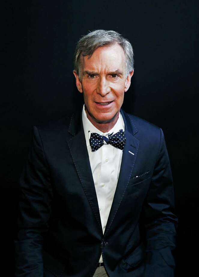 MONTCLAIR, NJ - MAY 06:  TV personality Bill Nye poses for a picture backstage at the 2017  Montclair Film Festival  on May 6, 2017 in Montclair, New Jersey.  (Photo by Bennett Raglin/Getty Images for Montclair Film Festival) Photo: Bennett Raglin, Stringer / 2017 Getty Images