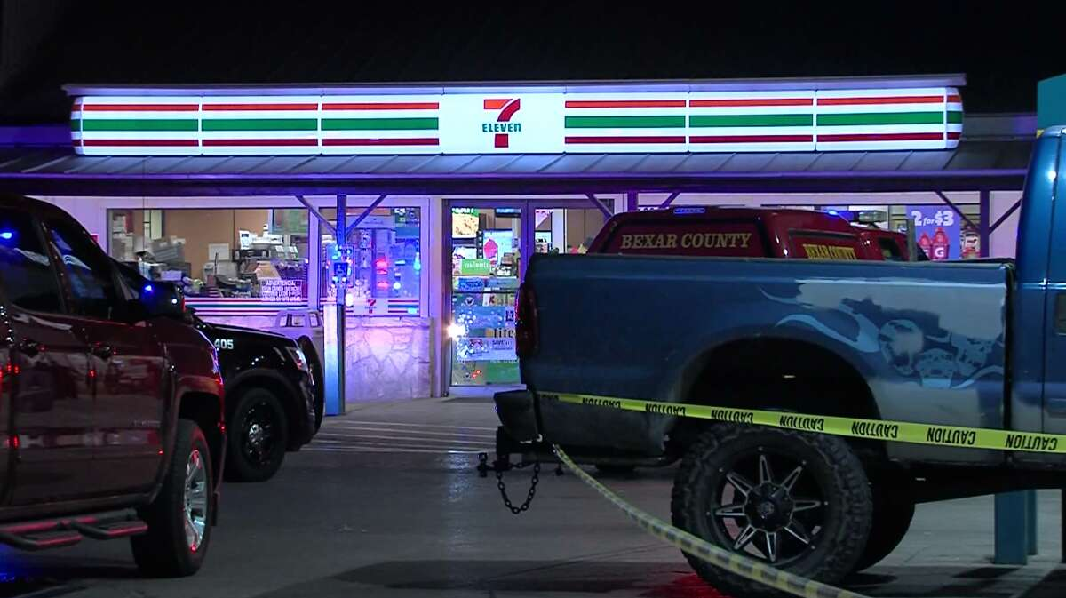 Police are seeking a male suspect they say shot another man during an argument at a Southwest Side gas station Sunday morning, May 21, 2017.