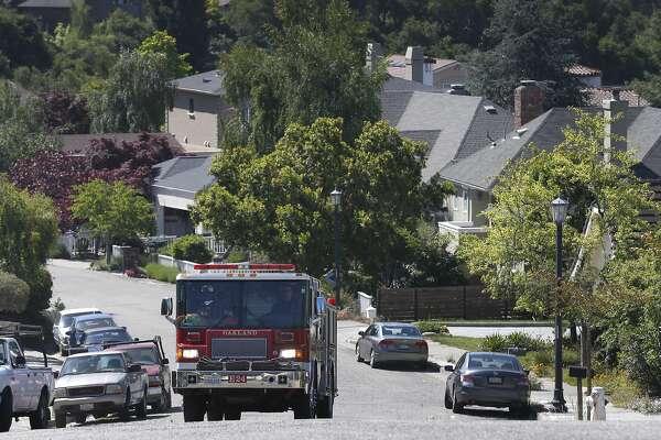 Black firefighter on inspection duty in Oakland hills gets