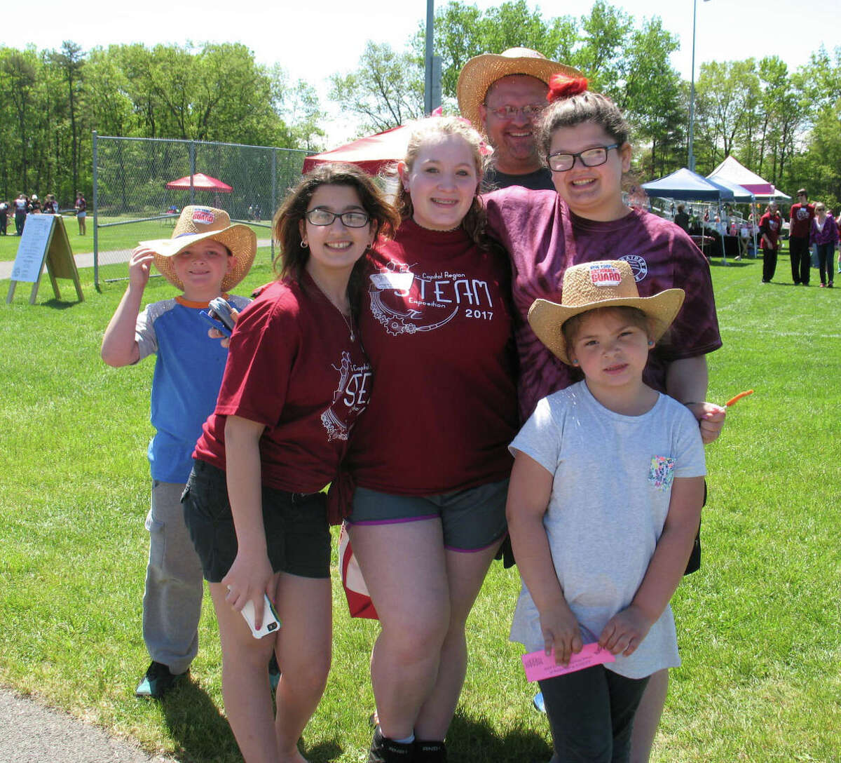 Were you Seen at the Colonie Central High School's Raiderfest community event at the school on May 20, 2017?