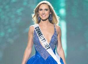 Greenwich's Olga Litvinenko competed in Miss USA 2017 on May 14, 2017.
