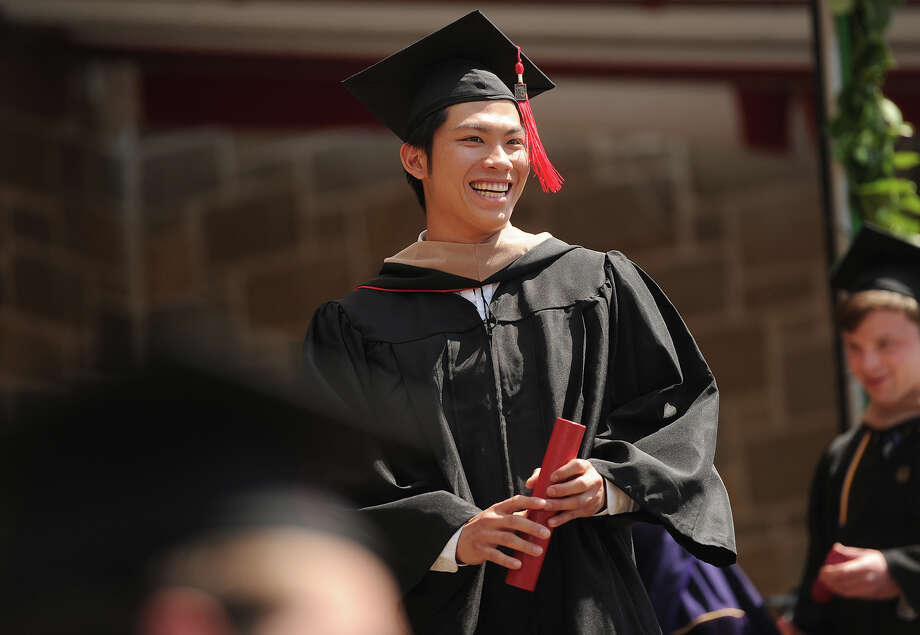 Fairfield University's Commencement exercises in Fairfield, Conn. on Sunday, May 21, 2017. Photo: Brian A. Pounds, Hearst Connecticut Media / Connecticut Post
