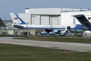 The Boeing facility at Port San Antonio has done other work over the years. In 2017 it took on the work of maintaining the executive fleet of aircraft like the modified Boeing 747 airplanes used by the president as Air Force One.