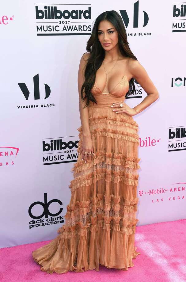 Nicole Scherzinger arrives at the Billboard Music Awards at the T-Mobile Arena on Sunday, May 21, 2017, in Las Vegas. (Photo by Richard Shotwell/Invision/AP) Photo: Richard Shotwell, Richard Shotwell/Invision/AP / 2017 Invision
