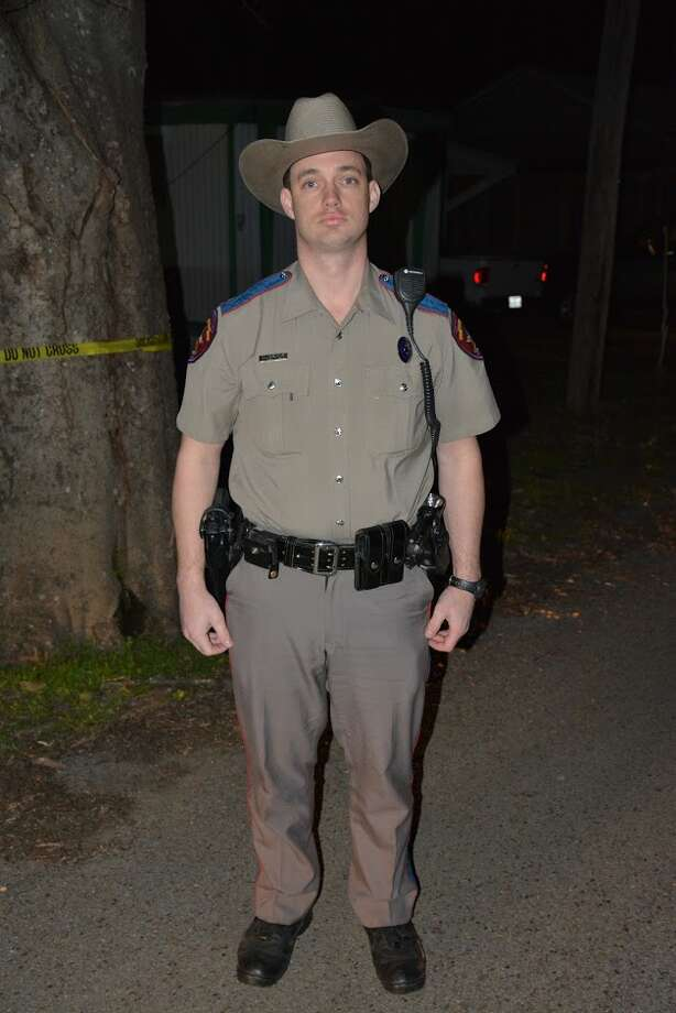 Texas DPS Trooper Daniel McBride, photographed on Feb. 13, 2016, the night that he shot Calin Devonte Roquemore in Beckville. McBride was cleared by a grand jury and in an internal review of the shooting. Photo: Eva Ruth Moravec/Point Of Impact Series Photo