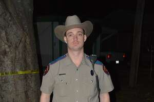 Texas DPS Trooper Daniel McBride, photographed on Feb. 13, 2016, the night that he shot Calin Devonte Roquemore in Beckville. McBride was cleared by a grand jury and in an internal review of the shooting.