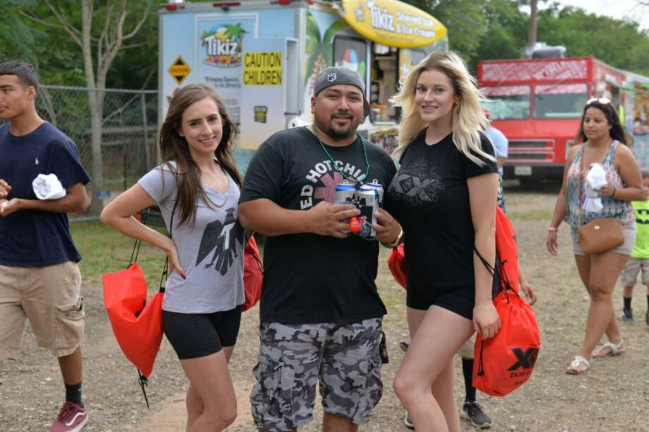 The threat of inclement weather did not dissuade hungry locals from rushing to the R&J Music Pavilion on the South Side for the annual Barbacoa and Big Red Festival Sunday, May 21, 2017. Photo: Kody Melton For MySA