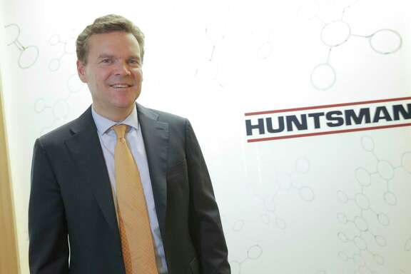 Huntsman CEO Peter Huntsman talks about his company on Monday, Oct. 24, 2016, in Woodlands. ( Elizabeth Conley / Houston Chronicle )