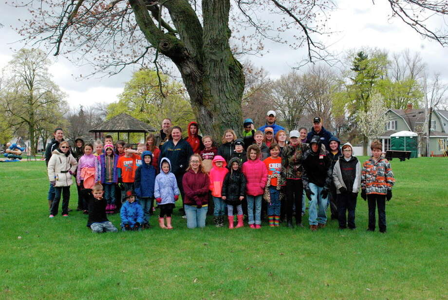The entire student population and faculty from The Midland Academy spent April 21 working with Midland County Parks and Recreation at Grove, Fournie, Central and Emerson parks.