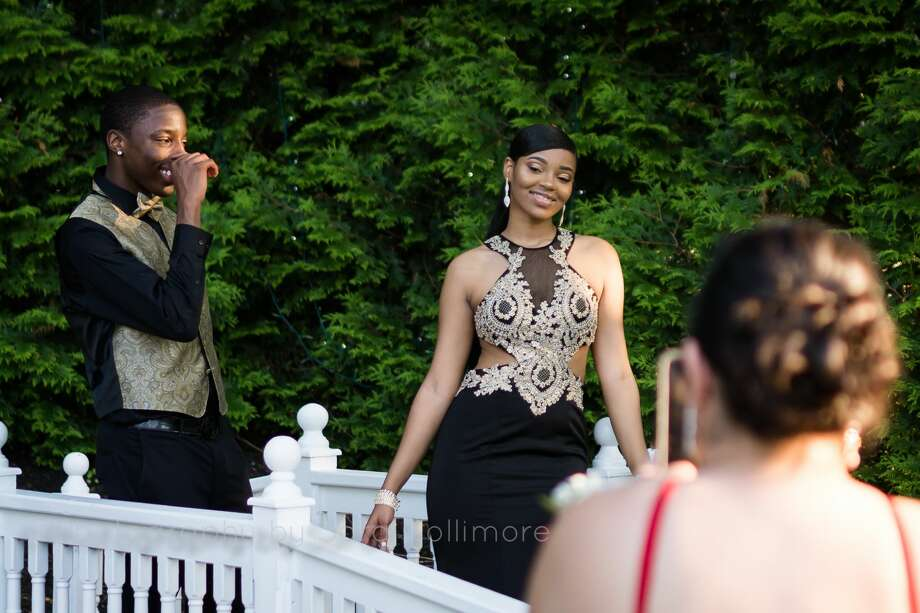 Bridgeport's Central High School held its senior prom at Woodwinds Banquet Hall in Branford on May 18, 2017. Were you SEEN? Photo: Sara Collimore