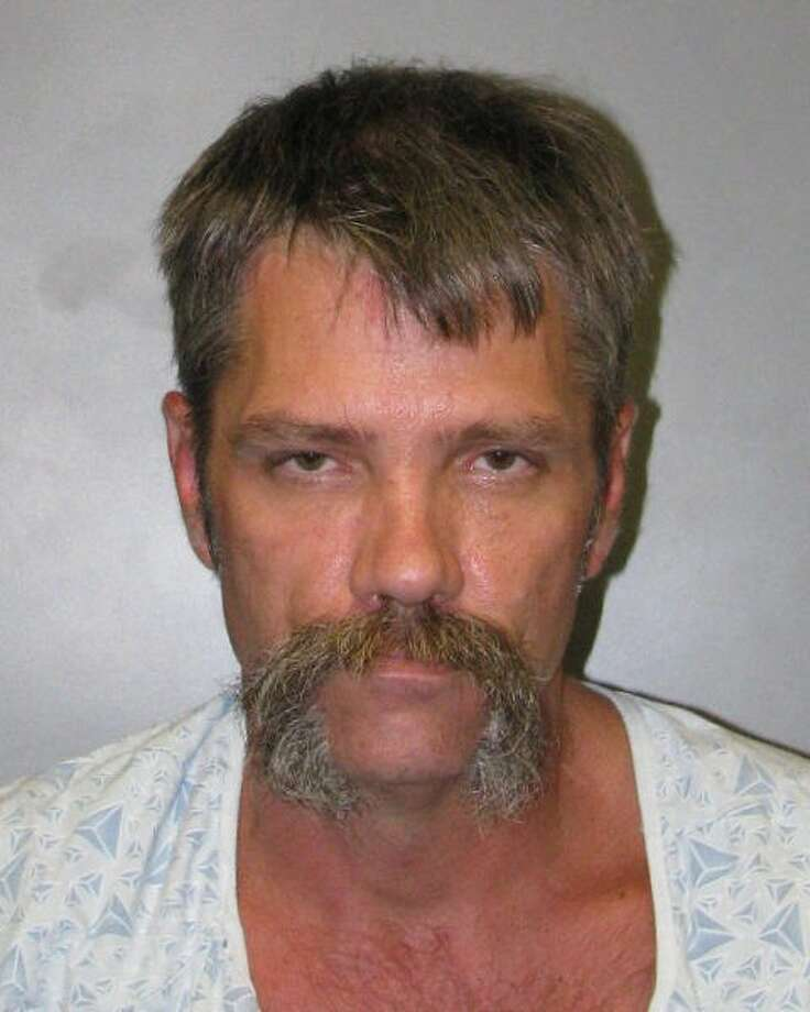 John D. Moore, 46, is accused of selling meth and other drugs out of a storage unit in Spring. He was arrested May 18, 2017. Photo: Harris County Constable Precinct 4