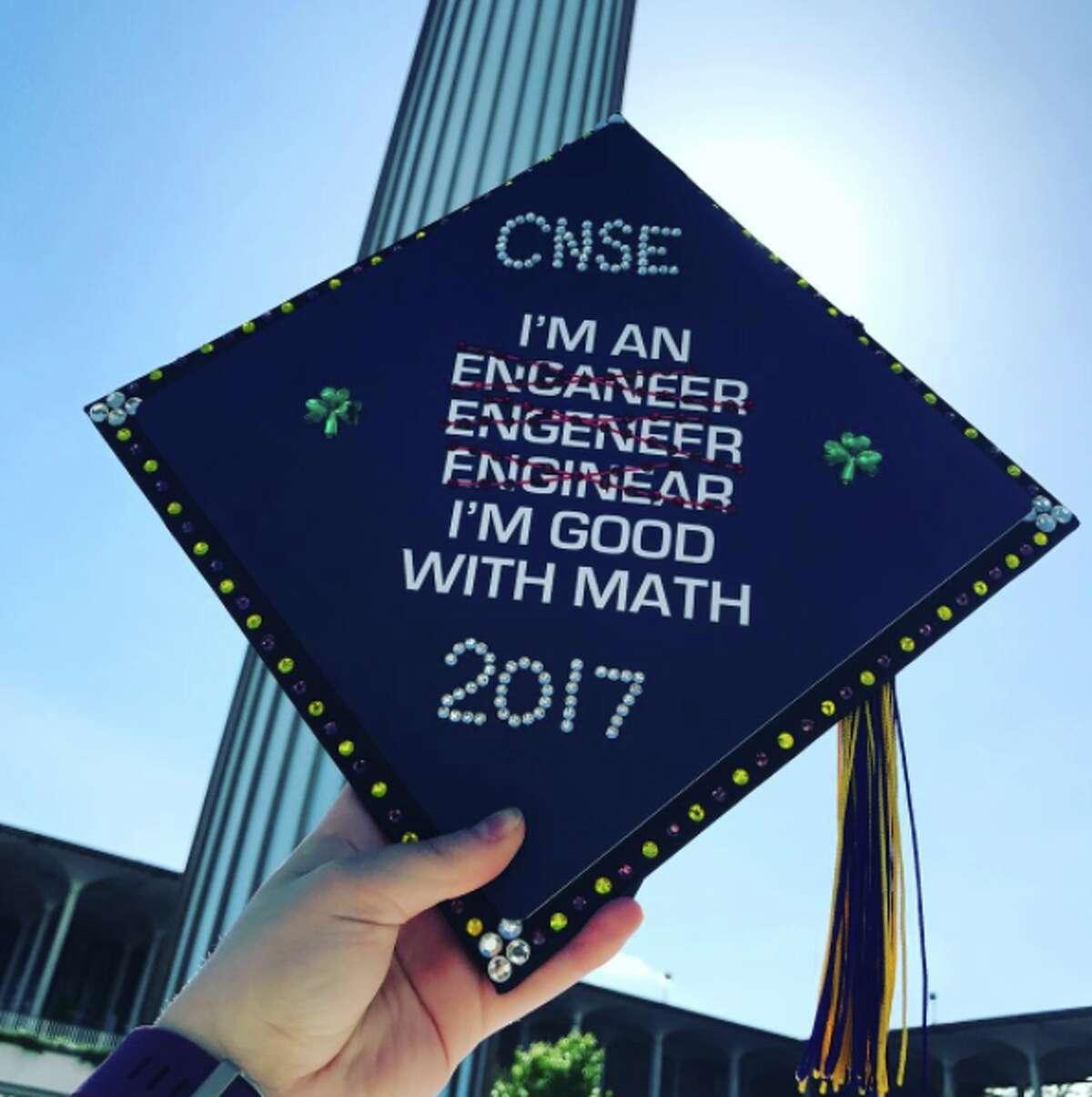Photo credit: Casey Biederman, 2017 University at Albany graduate