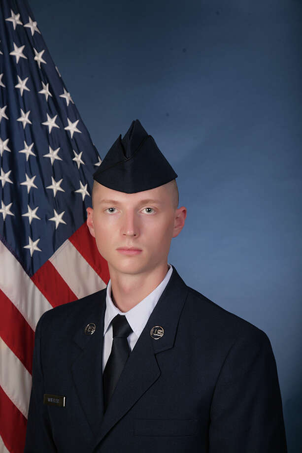 U.S. Air Force Airman 1st Class Michael L. Wheeler recently graduated from basic training at Joint Base San Antonio-Lackland. Photo: Courtesy Photo