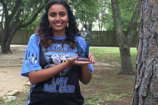 Dawson High School senior Shalini Ghurye has many academic accomplishments. But the joy of her high school years, she says, was playing lacrosse. After thinking of herself as a nonathletic bookworm, she tried the sport to improve her health and found she loved the camaraderie. She was awarded Ghurye was awarded this  trophy for her dedication and hard work on the team and for volunteering to help coach younger players.Dawson High School senior Shalini Ghurye has many academic accomplishments. But the joy of her high school years, she says, was playing lacrosse. After thinking of herself as a nonathletic bookworm, she tried the sport to improve her health and found she loved the camaraderie. She was awarded Ghurye was awarded this  trophy for her dedication and hard work on the team and for volunteering to help coach younger players.