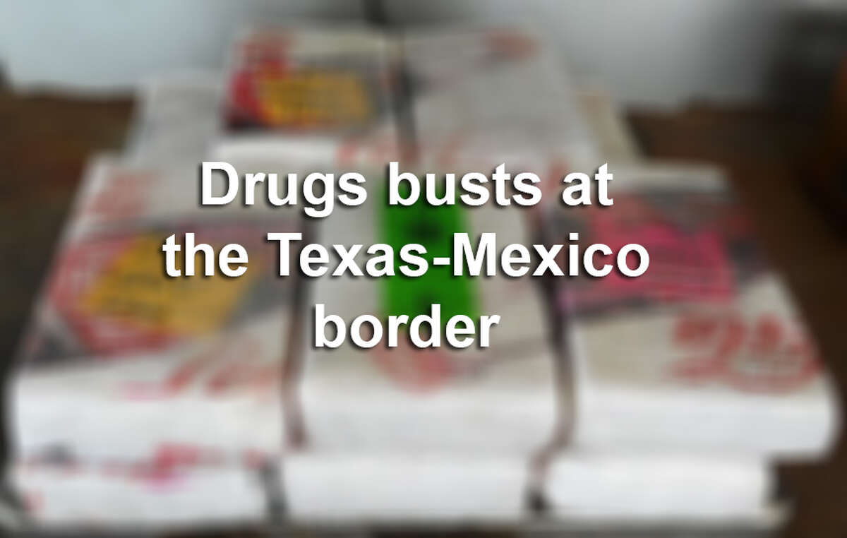 Click through this gallery to see notable drug busts at the Texas-Mexico border.