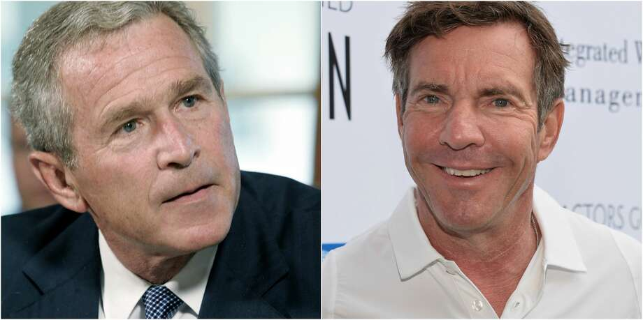"""PHOTOS: People who have played presidents on the big screenAccording to reports Bellaire-bred actor Dennis Quaid will play President George W. Bush in an upcoming season of """"American Crime Story"""" based on the events surrounding Hurricane Katrina.Click through to see the actors who have played the leader of the free world... Photo: Getty Images"""