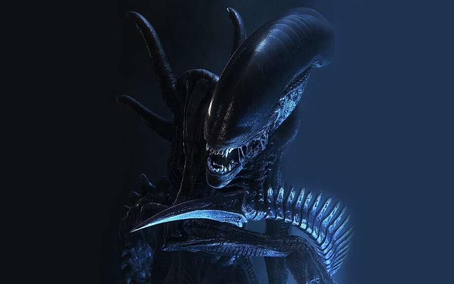 Xenomorph creature from ALIEN movie franchise.
