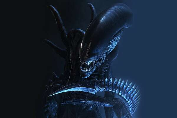 Xenomorph creature from ALIEN movie franchise.