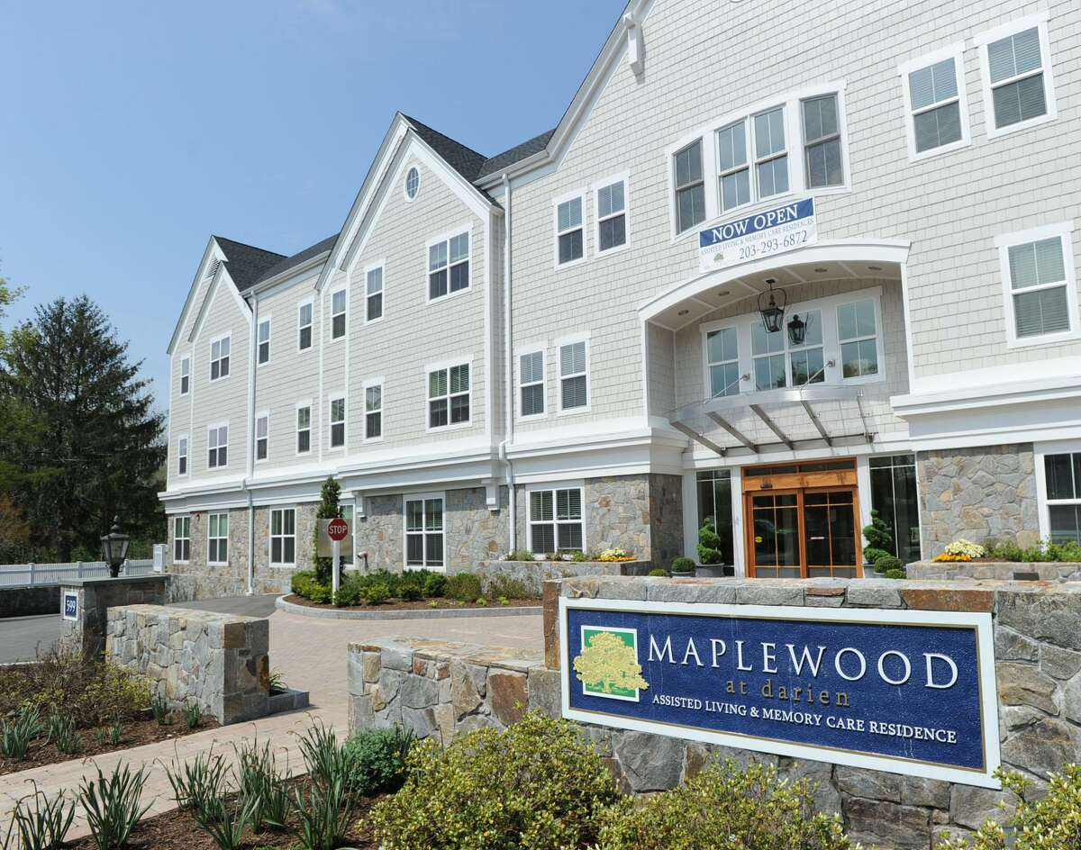 The Maplewood senior residences at 599 Post Rd. in Darien, Conn. On Monday, May 22, 2017, Westport-based Maplewood announced a planned expansion of the center, also closing on the purchase of land in Southport for a new Maplewood assisted living center.