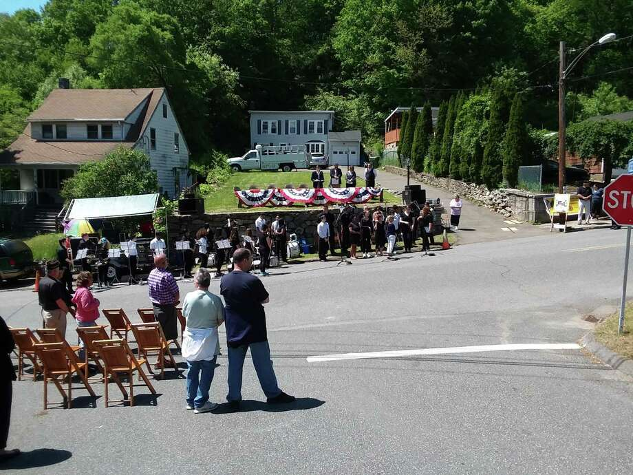 The 75th annual Woodbridge Avenue Memorial Day ceremony took place Sunday in Ansonia Photo: / Contributed Photo