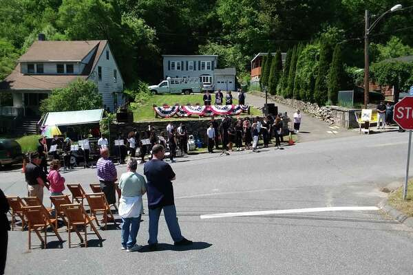 The 75th annual Woodbridge Avenue Memorial Day ceremony took place Sunday in Ansonia