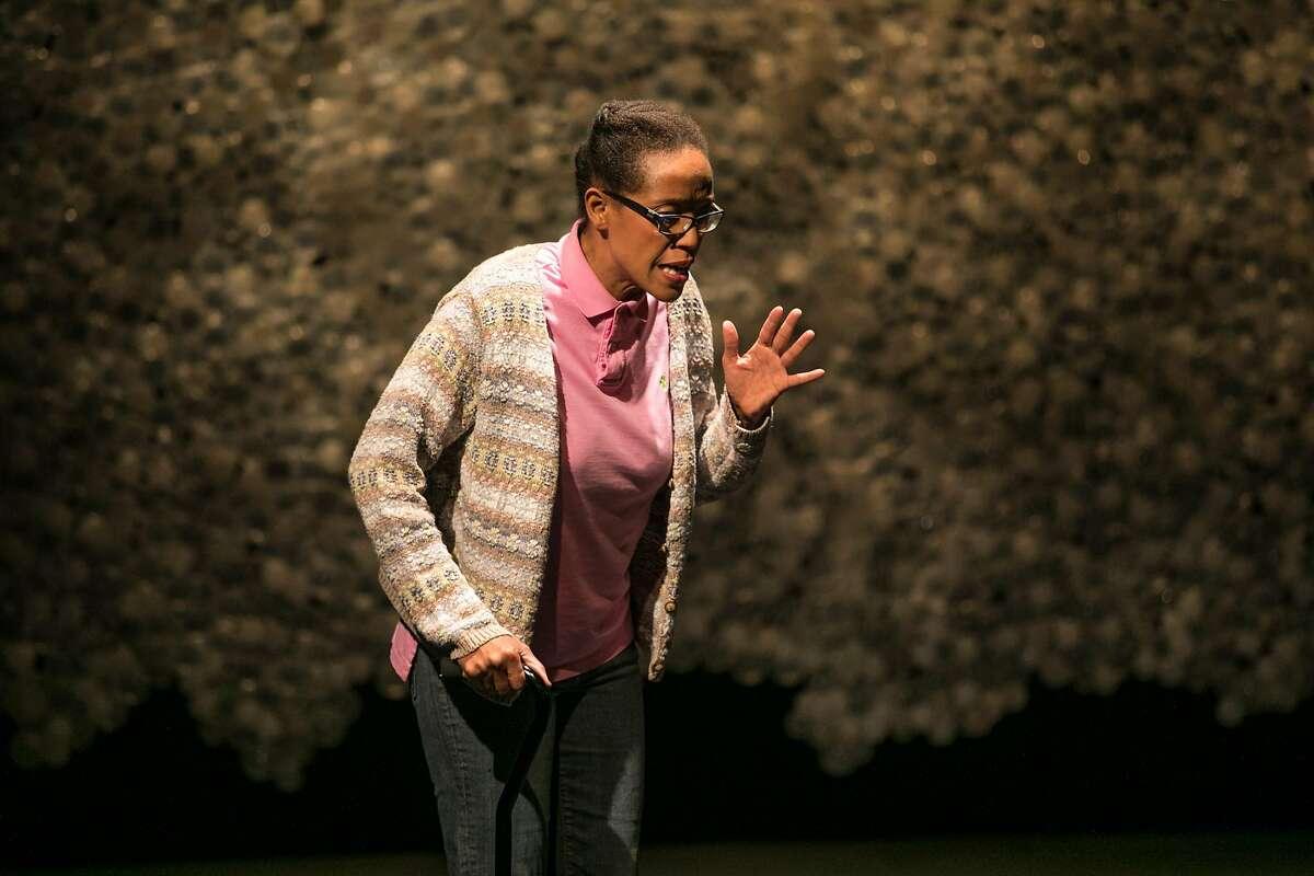 """Desiree Rogers as Deborah in TheatreFirst's """"HeLa."""""""