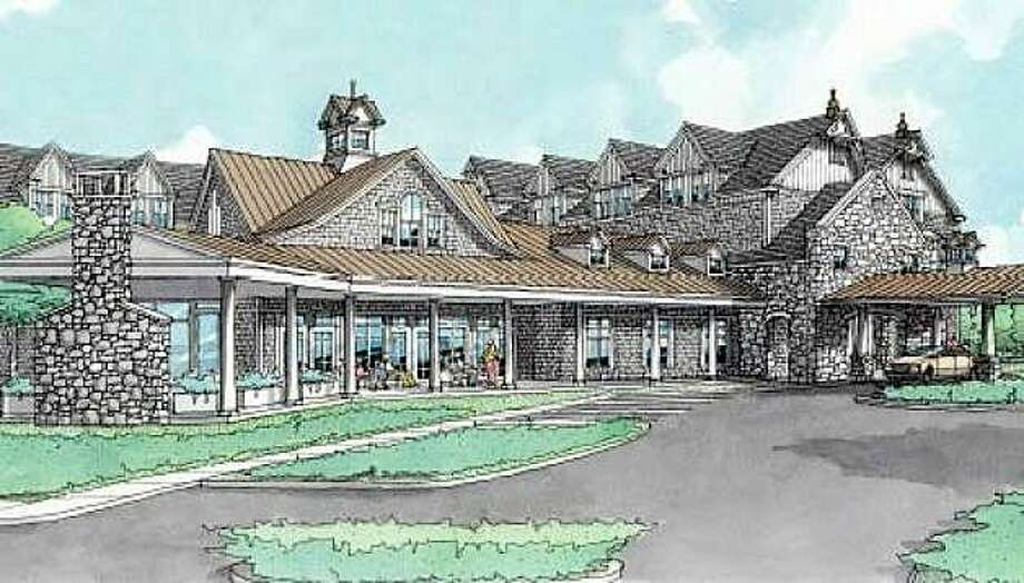 A rendering of the proposed Maplewood senior complex for Southport, Conn., with the company announcing on May 22, 2017 its purchase of land for the project. Photo: Contributed Photo / Contributed Photo / Fairfield Citizen