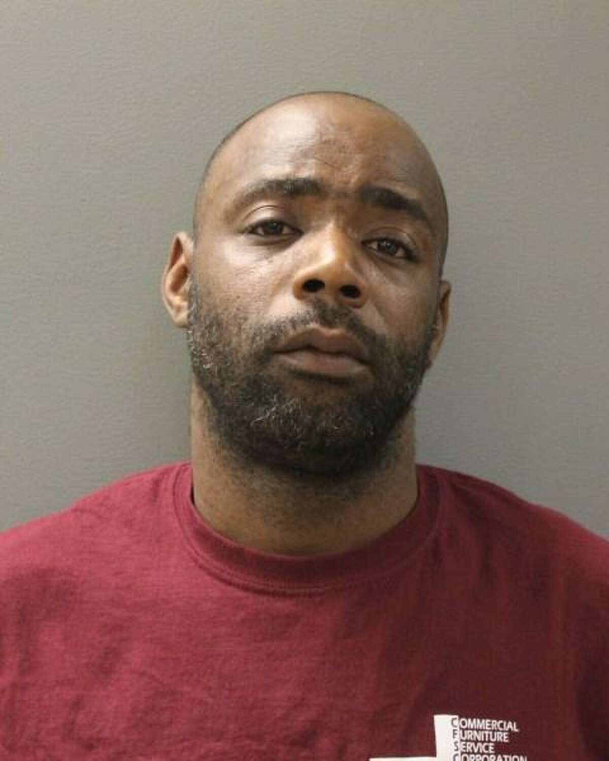 Hamden police arrested Otis Bowens, 39, of Hamden, after he allegedly beat his landlord. Photo courtesy of the Hamden Police.