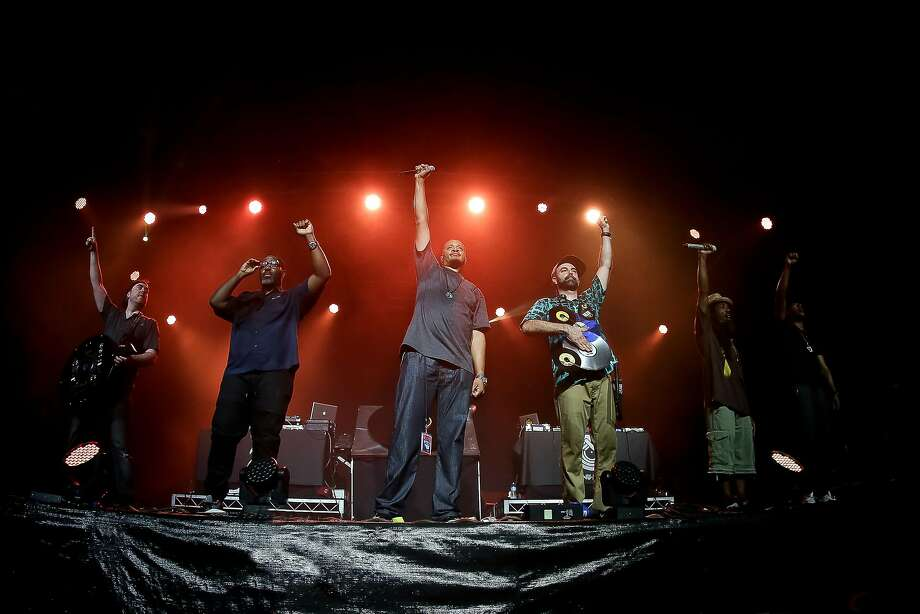 Jurassic 5 is scheduled to perform the California Roots Music & Arts Festival in Monterey. Photo: Josh Groom
