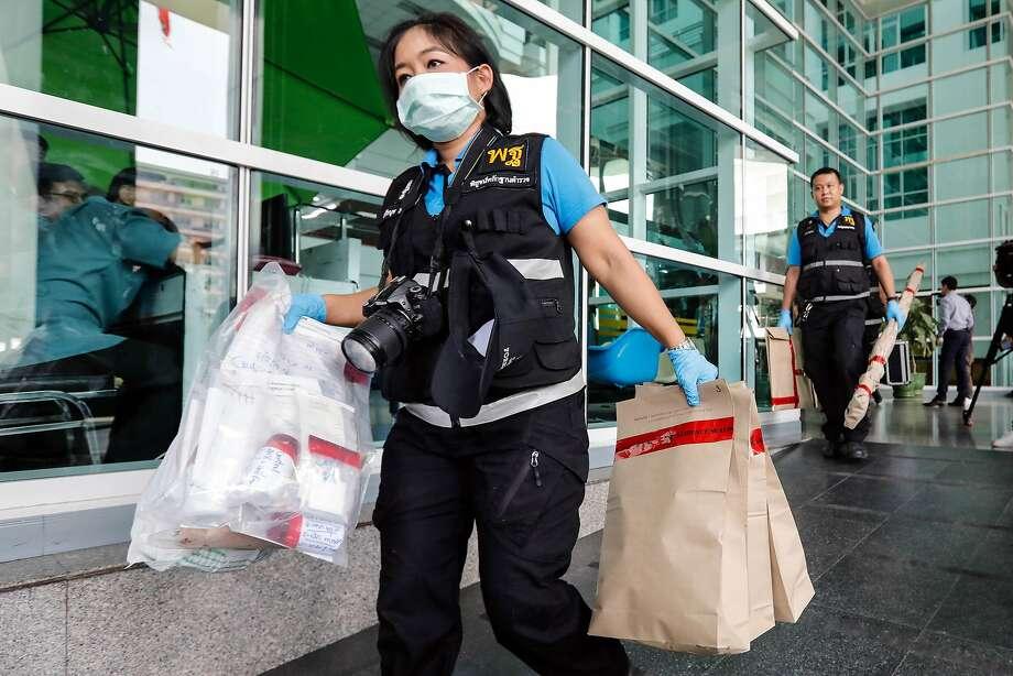 Bomb blast at Bangkok hospital injures more than 20, Thai police say