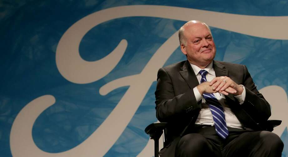 New CEO Jim Hackett has been overseeing the Ford subsidiary that works on autonomous vehicles. Photo: Elaine Cromie, TNS