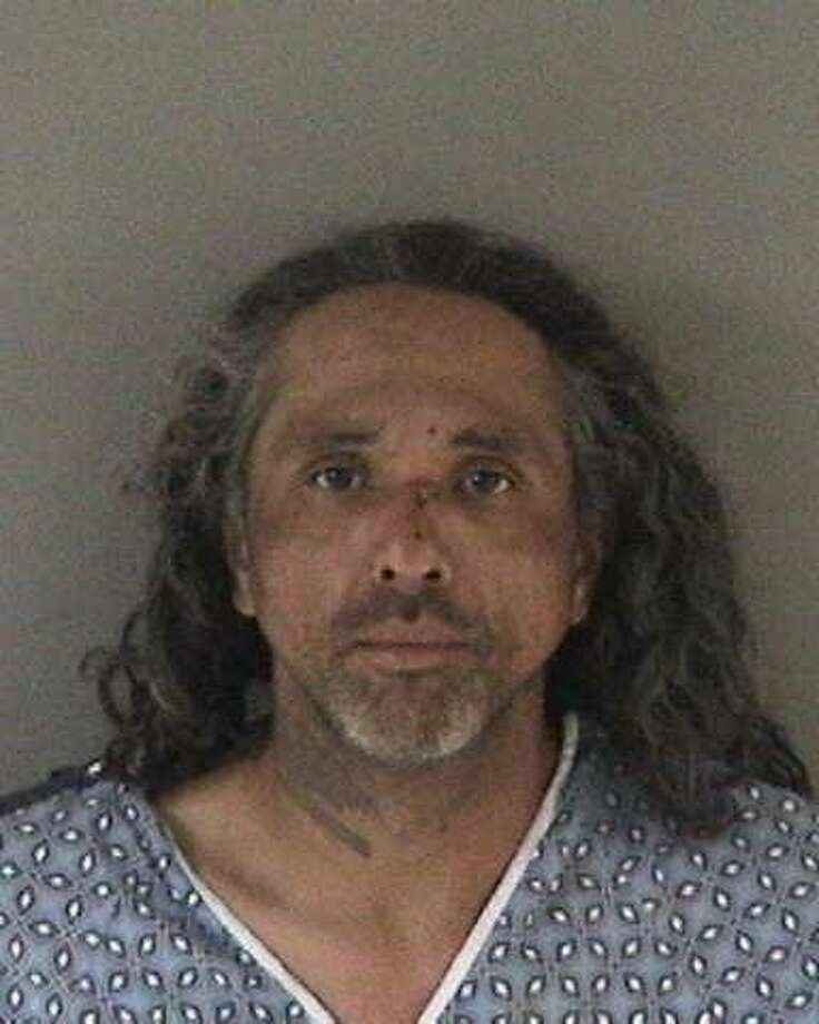 Victor Rubio, 43, of Union City faces seven counts of assault with caustic chemicals after trying to set fellow diners aflame at a Hayward Denny's, police said. Photo: Hayward Police Department
