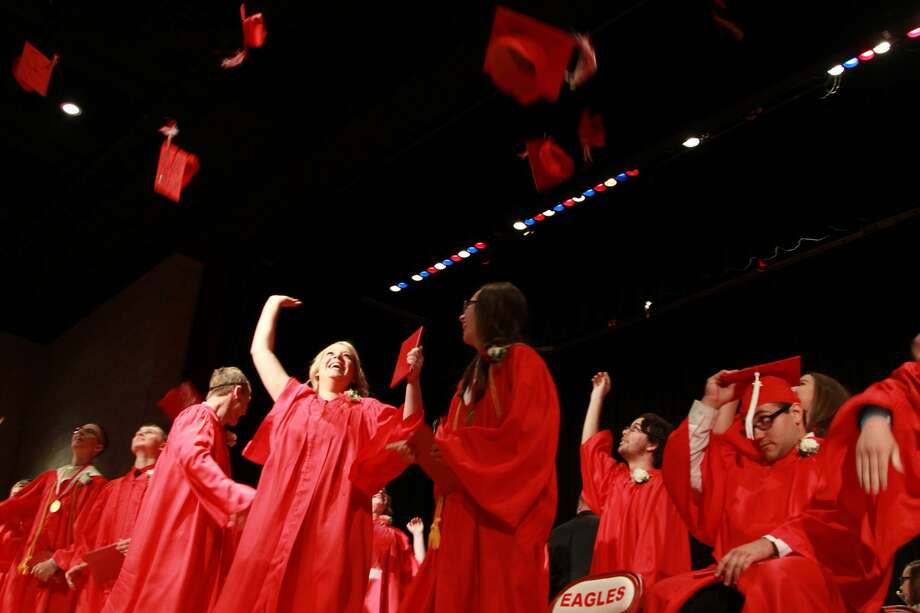 Caseville's Class of 2017 recently held its graduation ceremony. Photo: Coulter Mitchell/For The Tribune