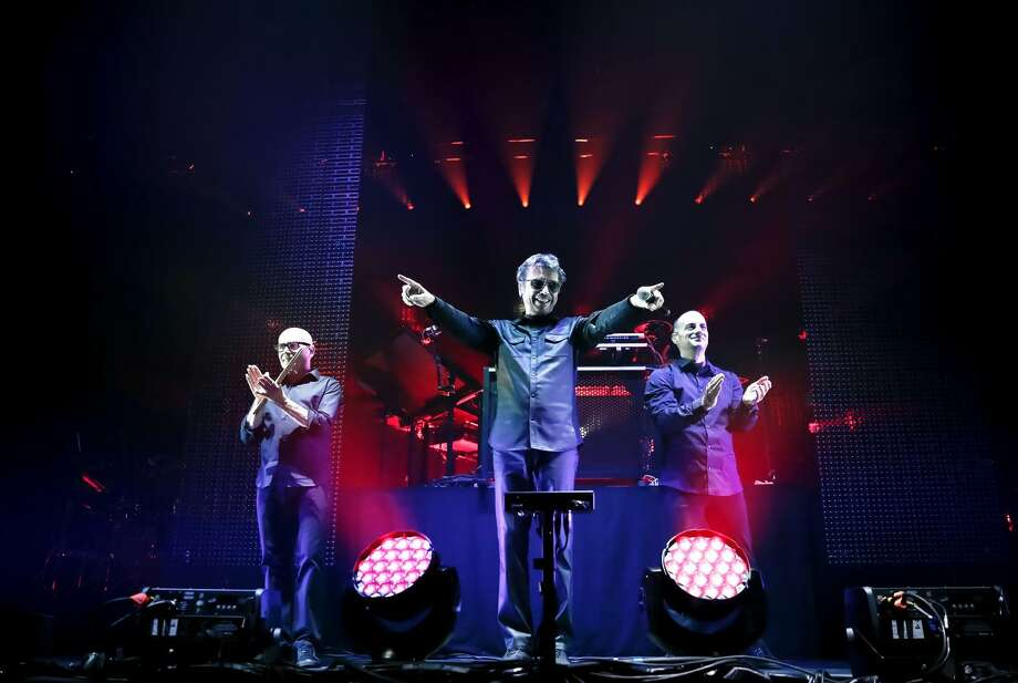 """Jean Michel-Jarre is bringing his """"Electronica"""" tour to Berkeley's Greek Theatre, Friday, May 26. / @Christie Goodwin"""