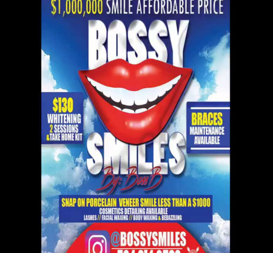 A New Orleans-area woman was arrested and charged earlier this month after it was alleged she had performed dental procedures without a license, advertising her services on Instagram. PHOTO: @BossySmiles on Instagram Photo: @bossysmiles On Instagram
