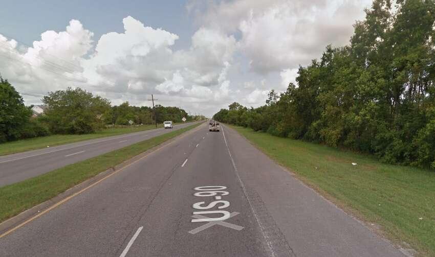 13. U.S. Highway 90, Louisiana Fatal crash rate: 1.2 271 crashes 295 fatalities Source:Geotab