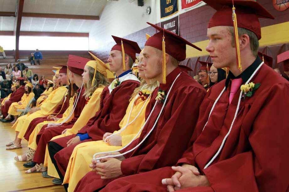 The Class of 2017 recently graduated from Deckerville High School. Photo: Coulter Mitchell/Huron Daily Tribune