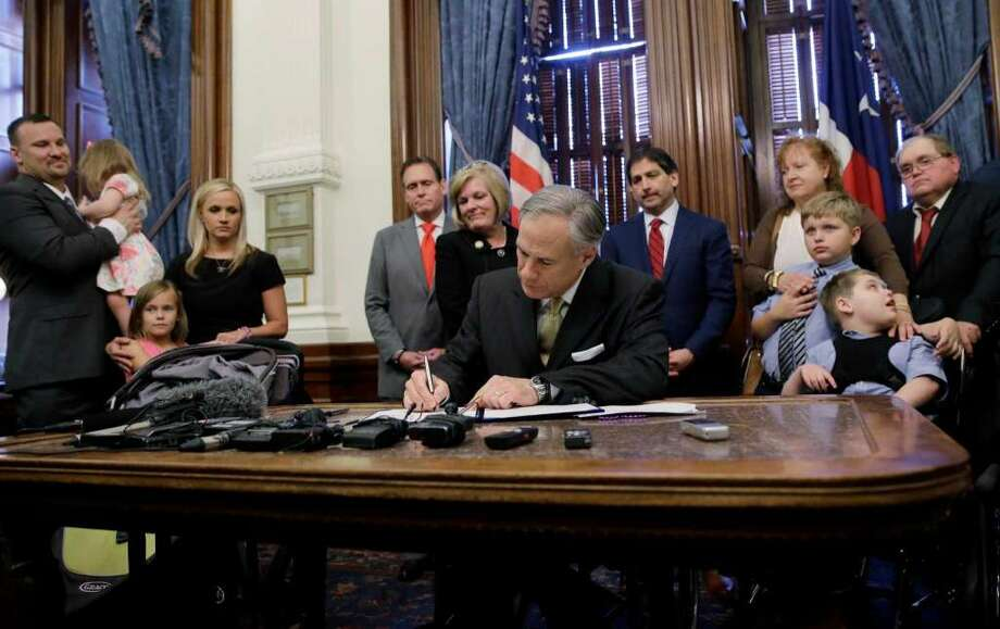 Senate Bill 160; Eliminates 8.5 percent cap on special education enrollment, bars state from establishing future performance indicators based on enrollment; Filed 11/14/2016; Passed Legislature, signed by the governor May 21.   Photo: Houston Chronicle