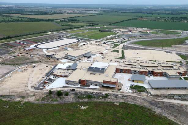 Southwest Legacy High School is shown under construction in this May 2016 photo. The school, set to open this fall, is being given a $1.7 million grant by Toyota's charitable foundation to support STEM programs.