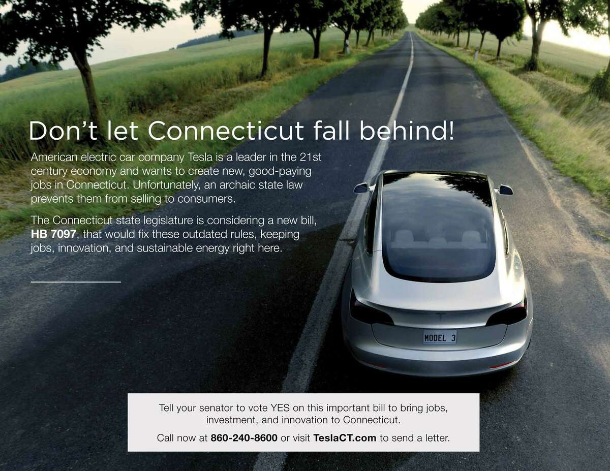 Tesla has formed a PAC and is doing targeted mailers as part of a full court press to get direct sales in Connecticut.