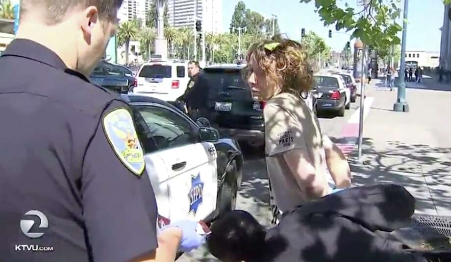 A woman was detained at the Ferry Building Monday, suspected of trying to kidnap a 3-year-old boy. Photo: Kidnap Ktvu