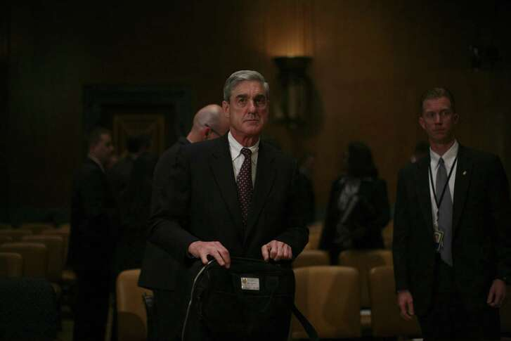 Robert Mueller III, the former FBI director, before the Senate Committee on Appropriations in Washington, June 4, 2009. He has been appointed special counsel to oversee the FBI investigation into possible ties between Russia and the Trump campaign, his appointment and event Trump brought on himself by declaring war on the nation's intelligence agencies.