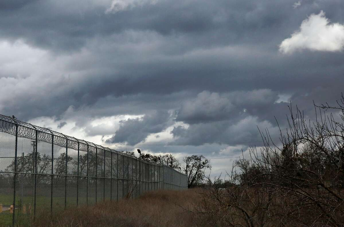 Clouds gather over San Joaquin County Juvenile Detention Center Feb. 3, 2017 in French Camp, Calif.