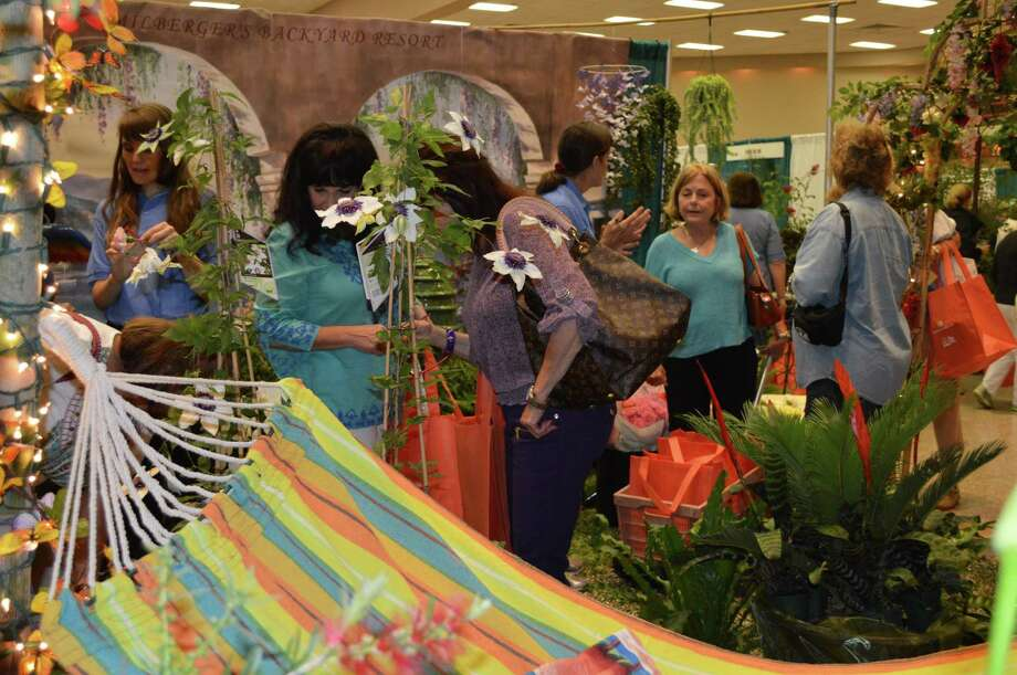 The 20th annual Festival of Flowers Event takes place May 27 at the San Antonio Shrine Auditorium, and the theme this year is rain gardens. Pictured is a display from a previous festival. Photo: Courtesy Photo