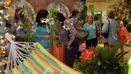 The 20th annual Festival of Flowers Event takes place May 27 at the San Antonio Shrine Auditorium, and the theme this year is rain gardens. Pictured is a display from a previous festival.