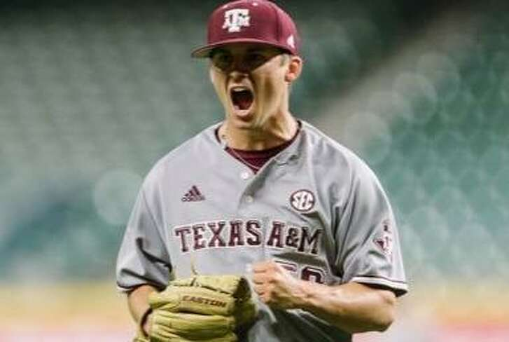Texas A&M pitcher Kaylor Chafin, shown during the 2017 season.