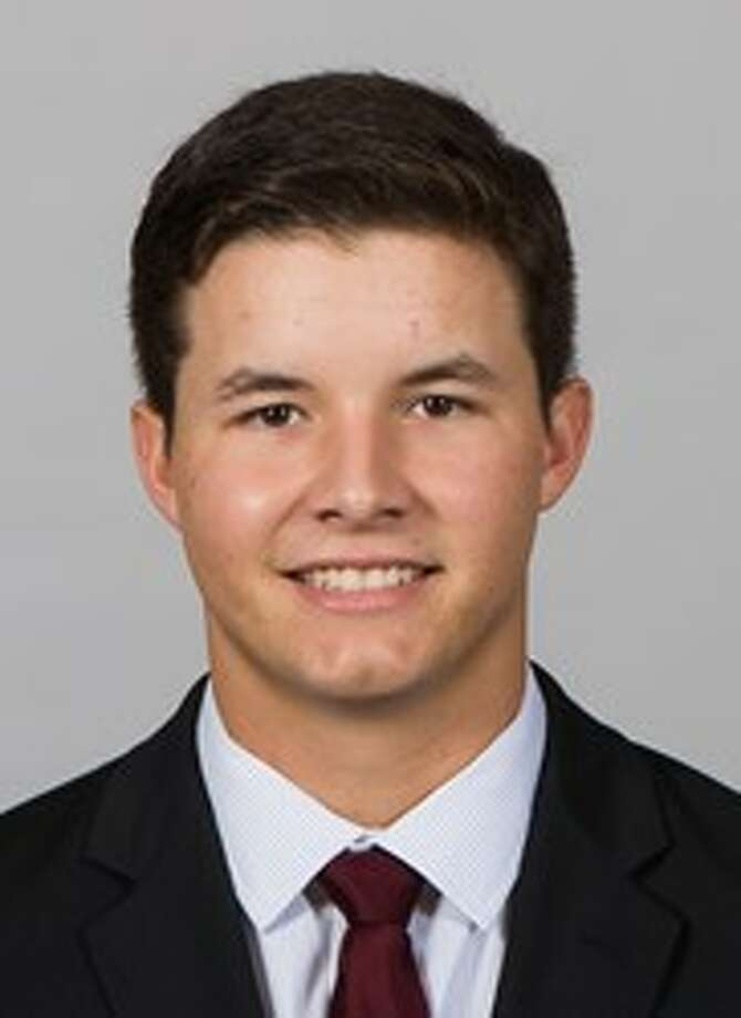 Texas A&M freshman catcher Hunter Coleman.